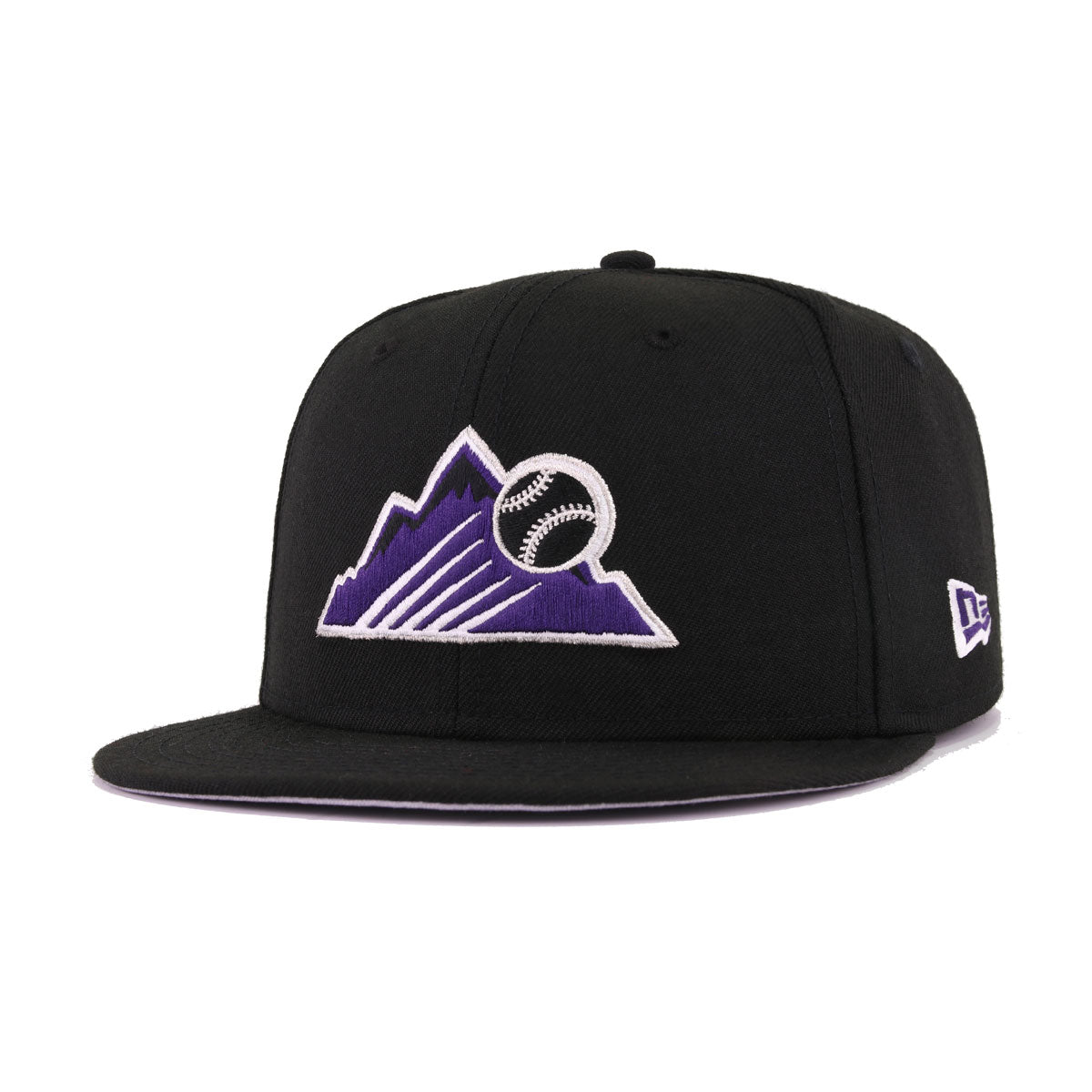Colorado Rockies Black Purple Metallic Silver New Era 9Fifty Snapback 3acf8fc71b6