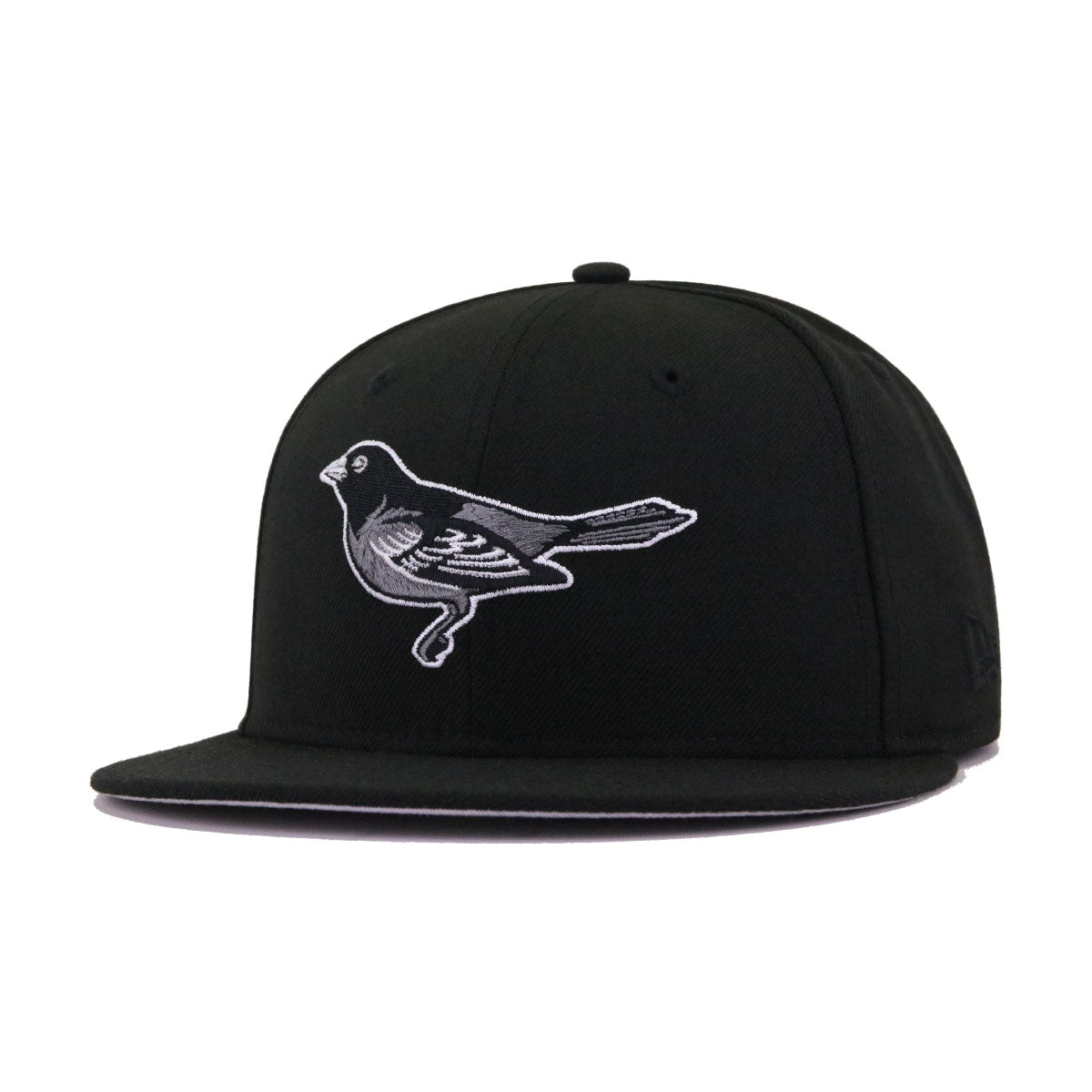 Baltimore Orioles Black Crow New Era 59Fifty Fitted