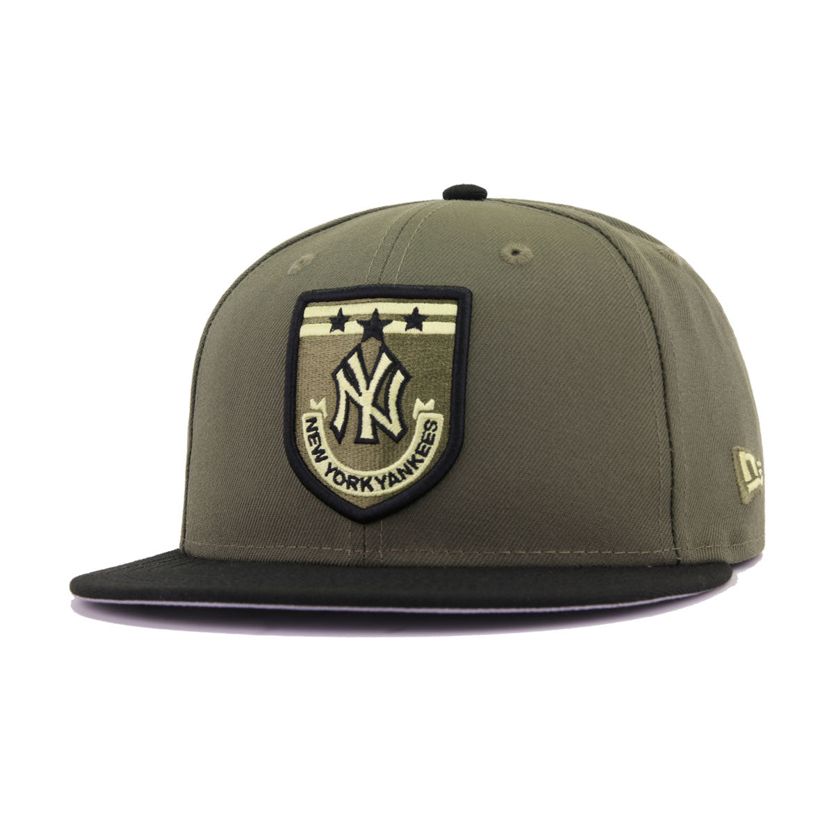 dd4cc0dc9 New York Yankees Armed Forces New Olive Black New Era 9Fifty Snapback