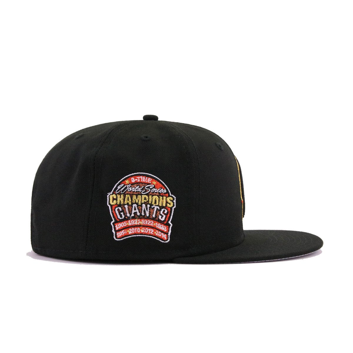 d262a75a San Francisco Giants Black Batting Practice 8-Time Champions New Era 9Fifty  Snapback