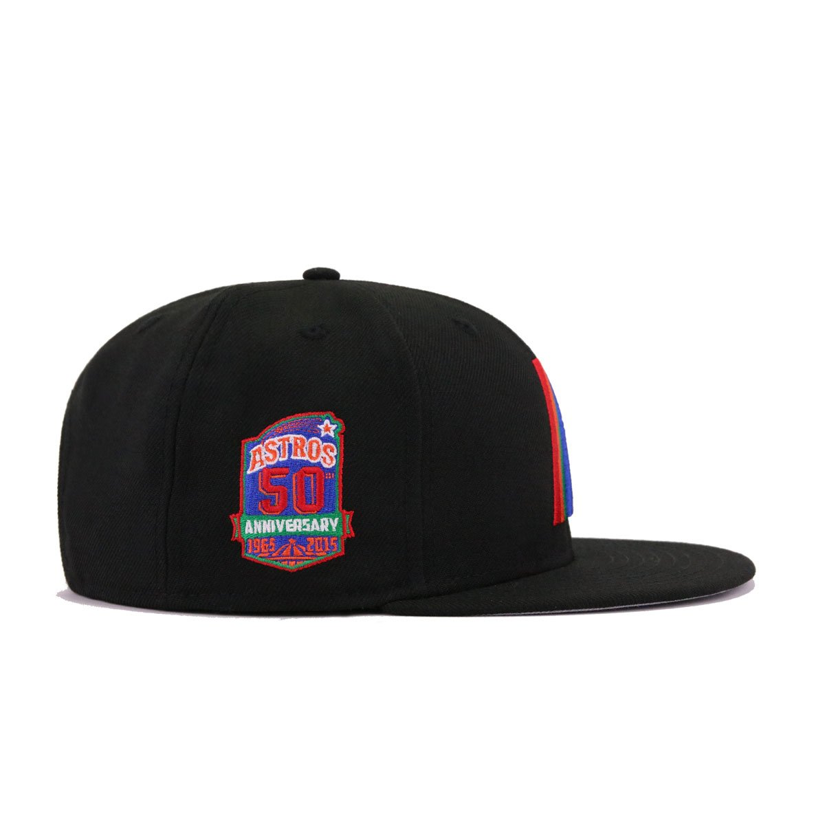 Houston Astros Black Chow Blue Kelly Green Orangeade Scarlet 50th Anniversary New Era 9Fifty Snapback