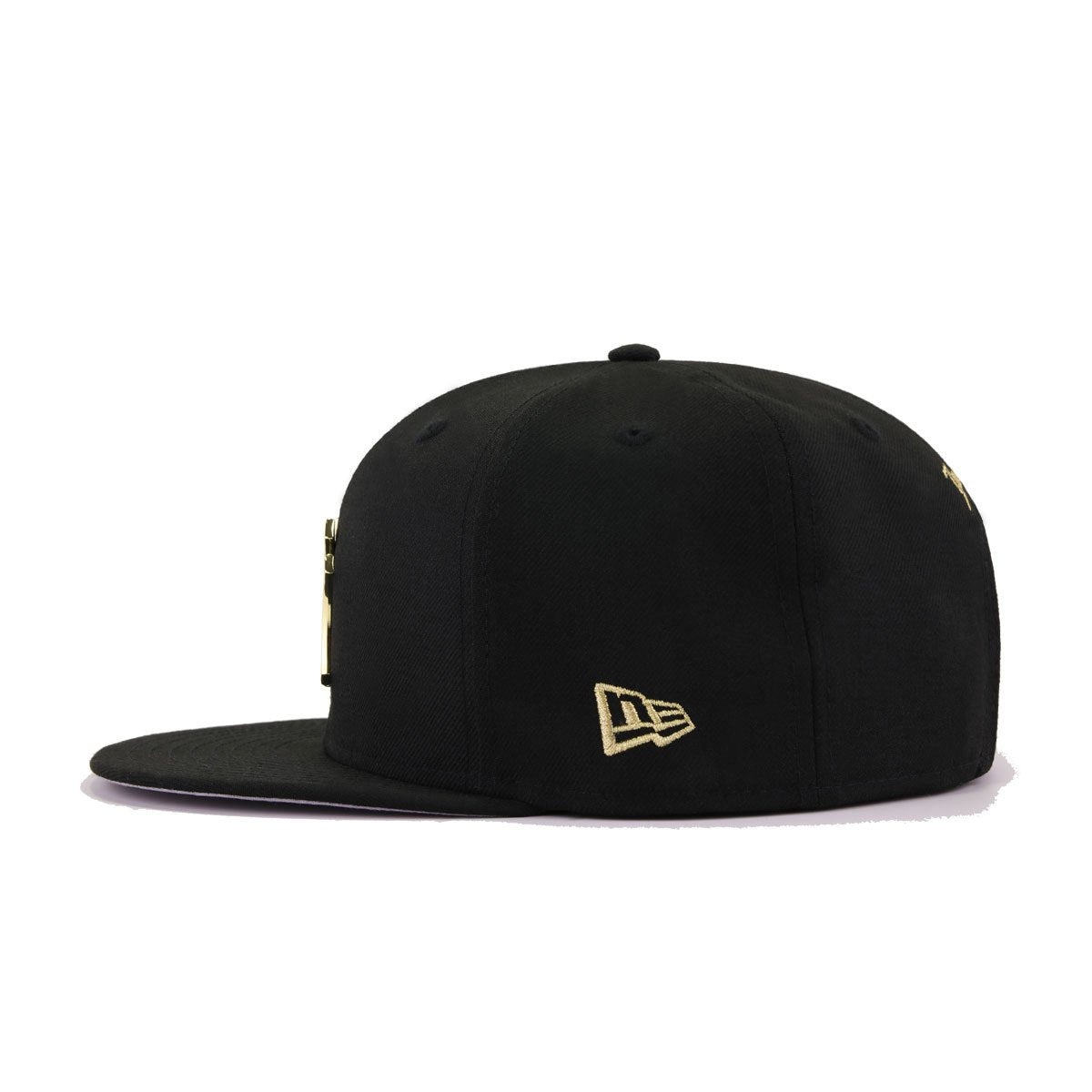 New York Yankees Black Gold Metal Badge New Era 9Fifty Snapback
