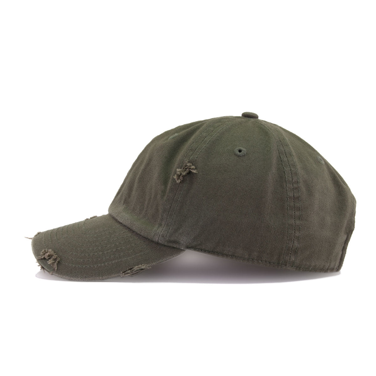Distressed Olive KBEthos Vintage Dad Hat