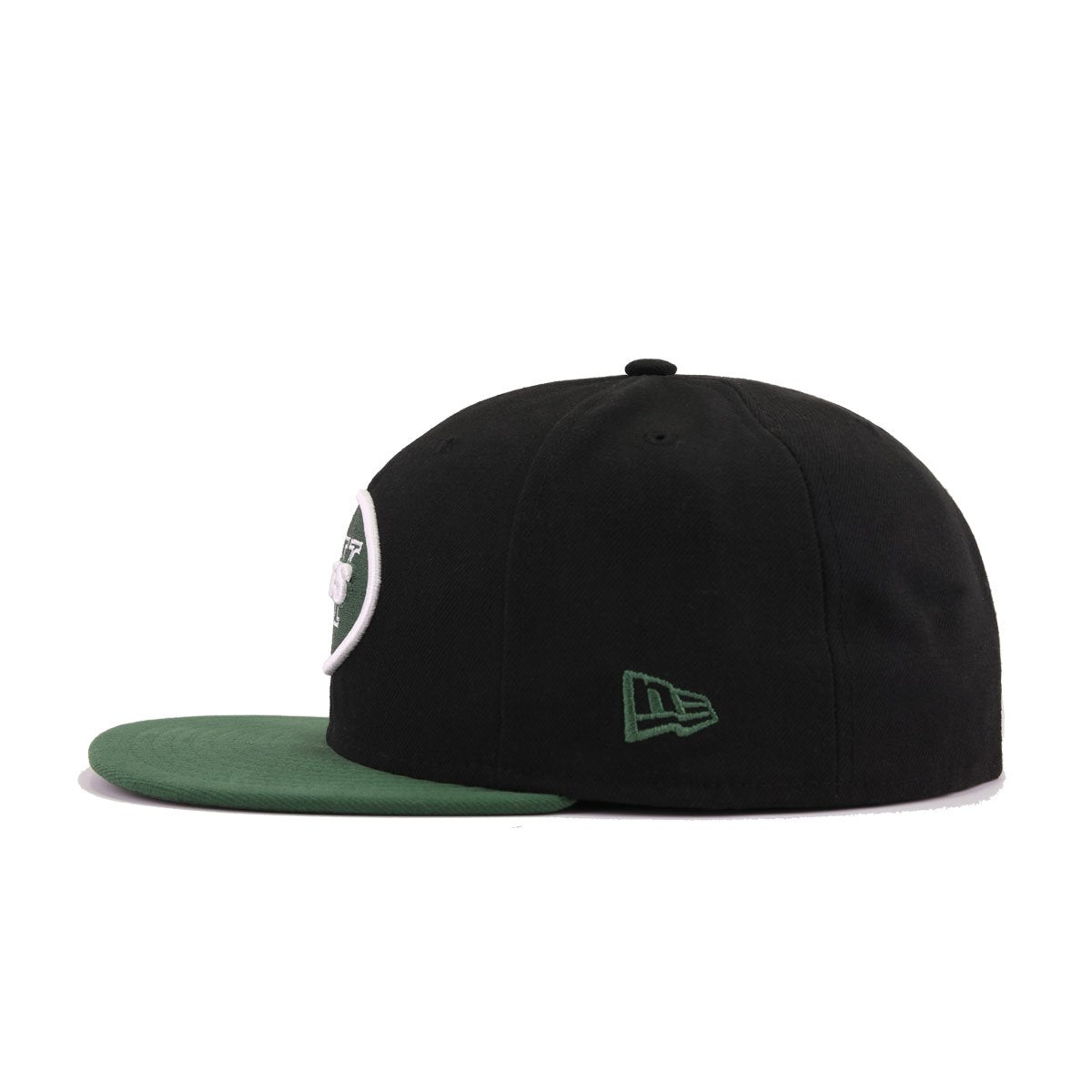 pretty nice 07ffa 74a3b New York Jets Black Cilantro Green New Era 59Fifty Fitted
