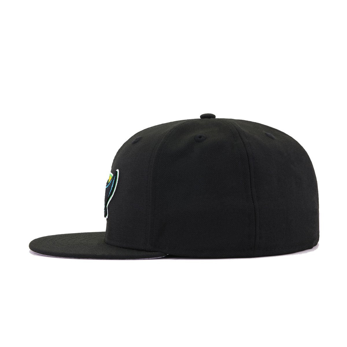 Tampa Bay Rays Black Alternate Cooperstown New Era 59Fifty Fitted