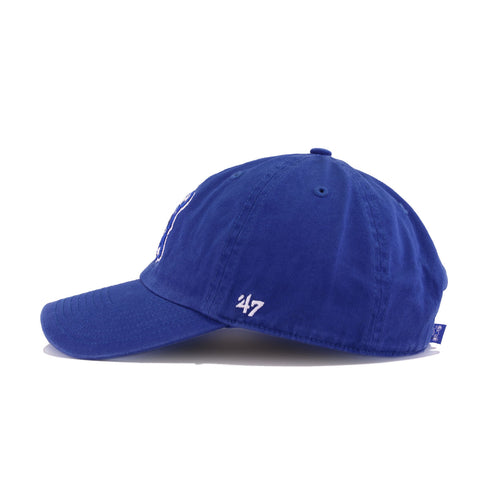 Indianapolis Colts Legacy Songbird Blue 47 Brand Clean Up Dad Hat