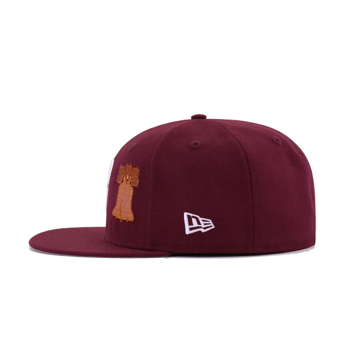 Philadelphia Phillies Maroon Liberty Bell New Era 59Fifty Fitted