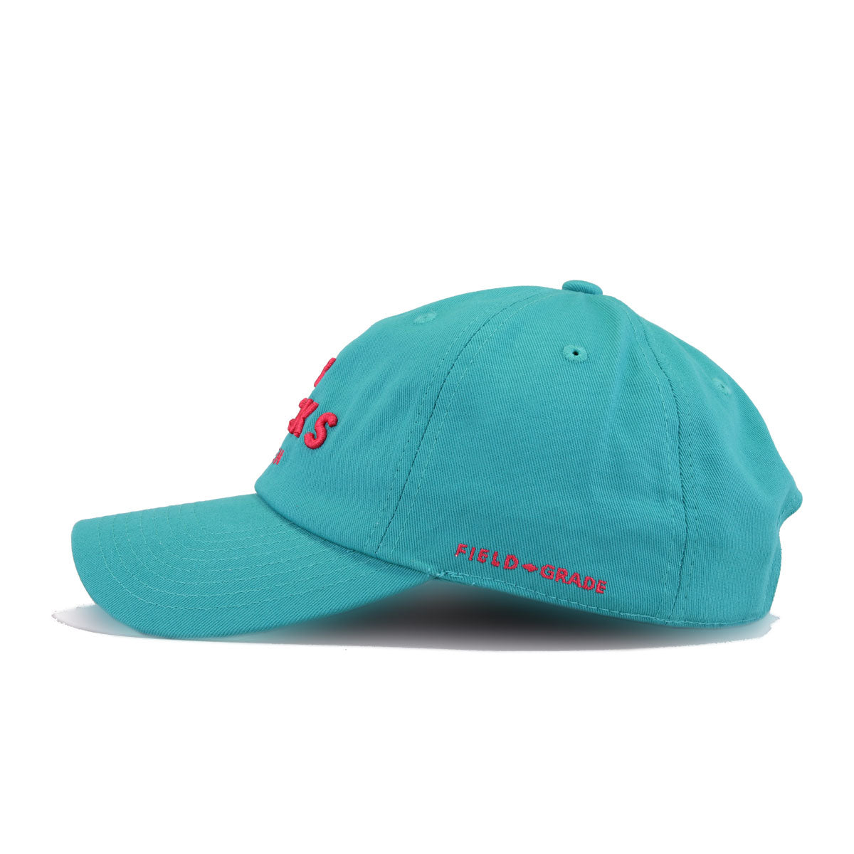 No Fcks Given Teal Field Grade Dad Hat