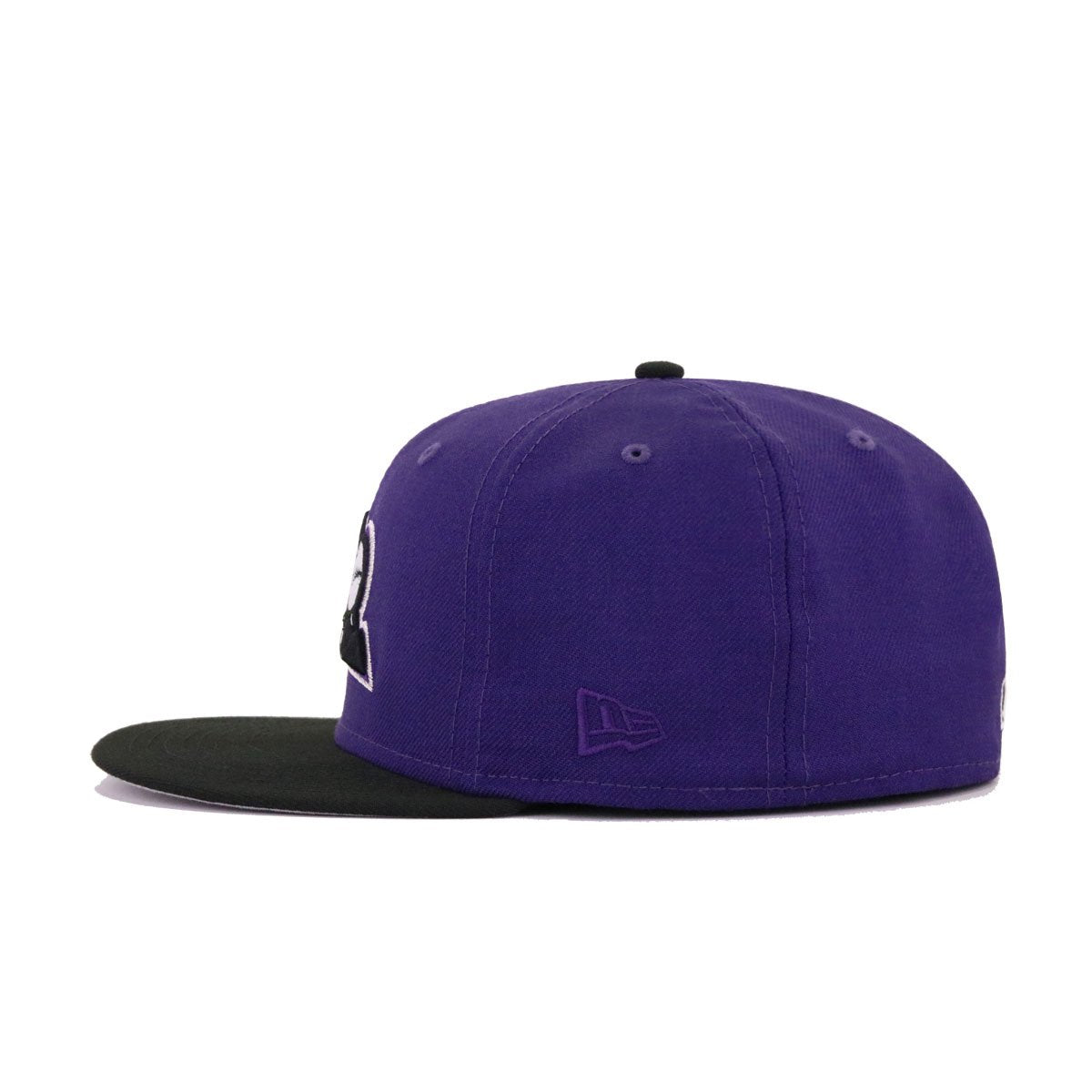 Colorado Rockies Purple Black Batting Practice New Era 59Fifty Fitted