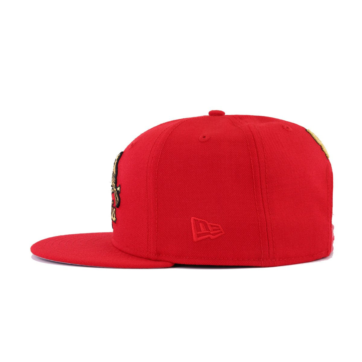 St Louis Cardinals Scarlet Metallic Gold New Era 9Fifty Snapback