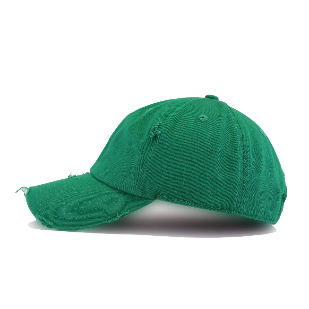 Distressed Kelly Green KBEthos Vintage Dad Hat