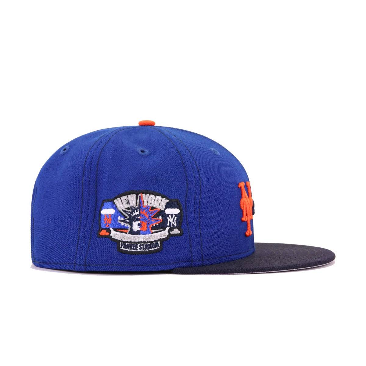 New York Yankees x New York Mets x Hat Heaven Navy Light Royal Blue Subway Series New Era 9Fifty Snapback