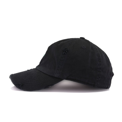 Distressed Rose Black KBEthos Vintage Dad Hat
