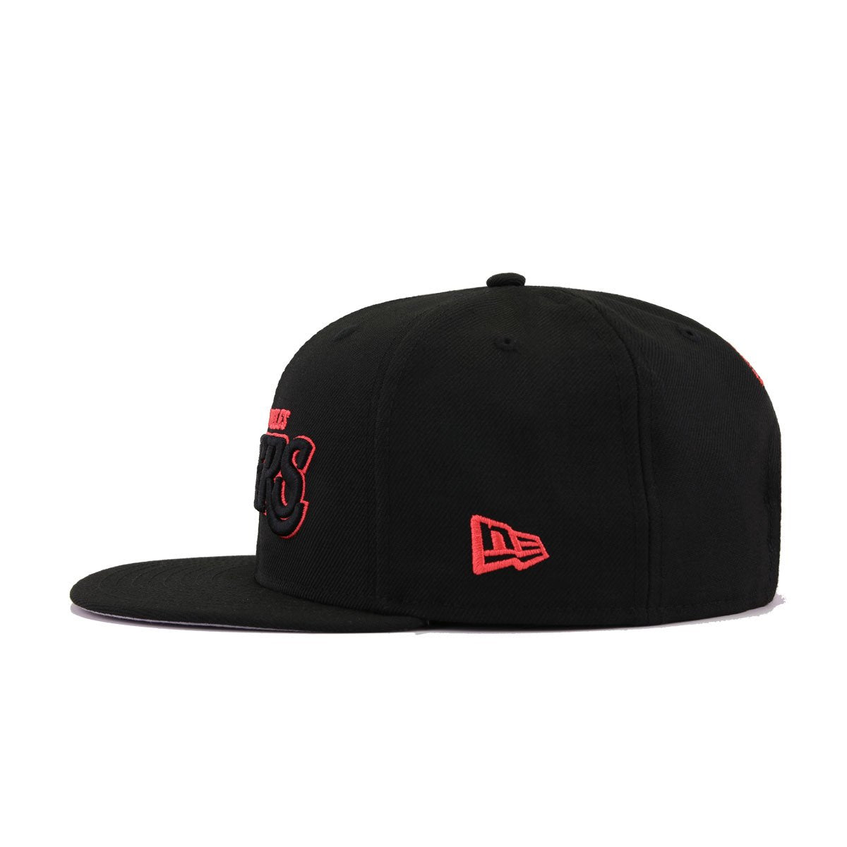 Los Angeles Lakers Black Lava Red New Era 9Fifty Snapback