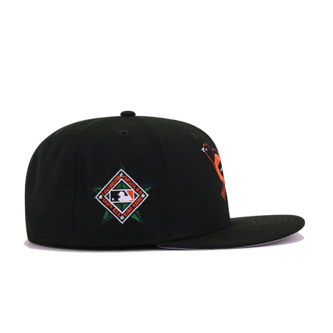 Baltimore Orioles Black 1993 All Star Game Cooperstown New Era 59Fifty Fitted