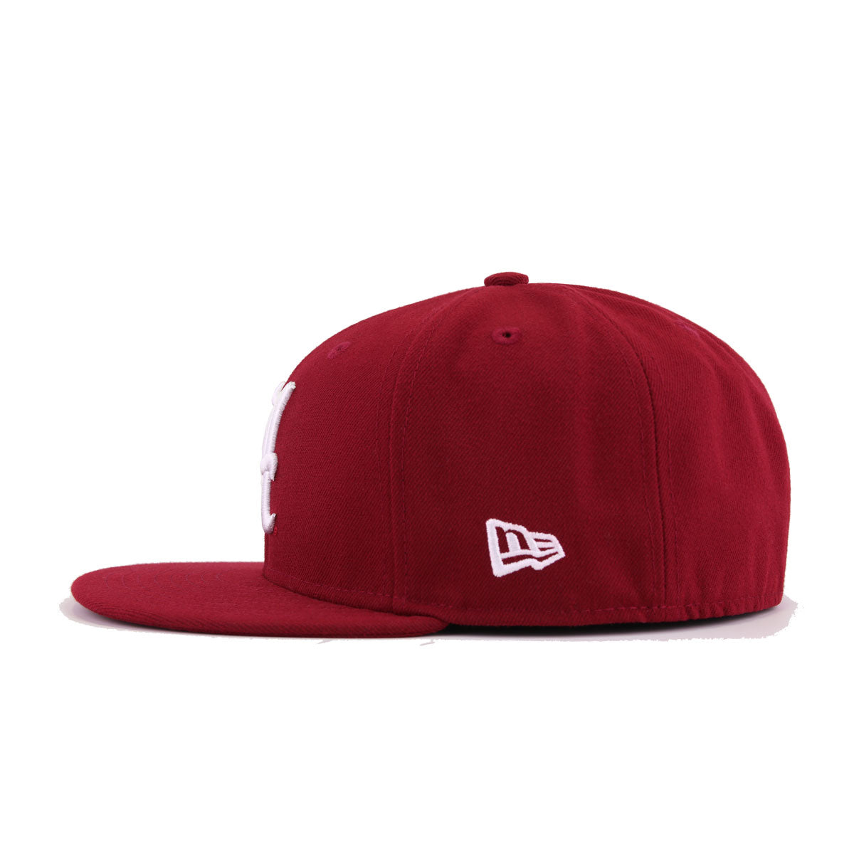 University of Alabama Crimson Tide Cardinal Red New Era 59Fifty Fitted