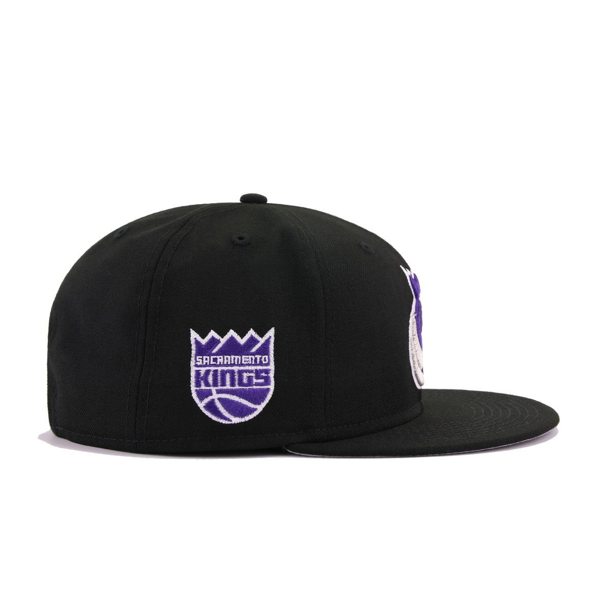 Sacramento Kings Black Alternate New Era 9Fifty Snapback