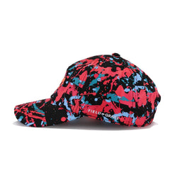 Animal Money Black Hot Punch Splatter Field Grade Dad Hat