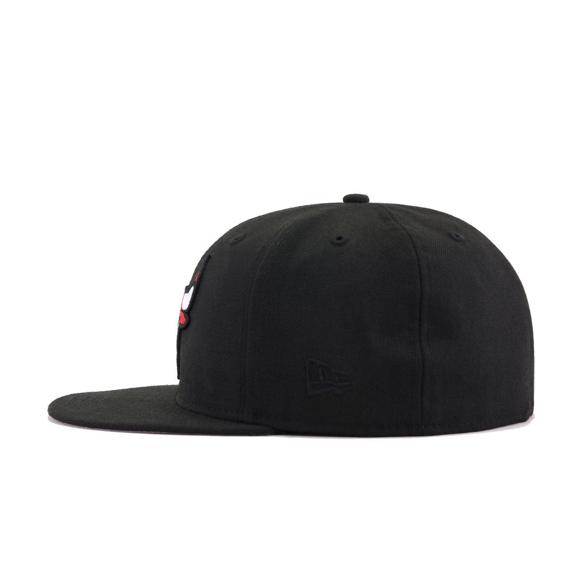 Chicago Bulls Black New Era 59Fifty Fitted