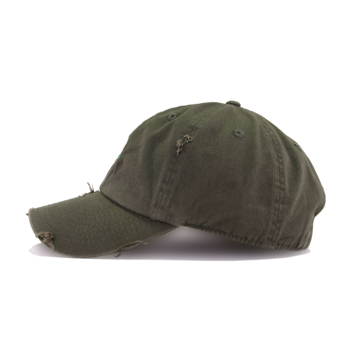 Distressed Rose Olive KBEthos Vintage Dad Hat