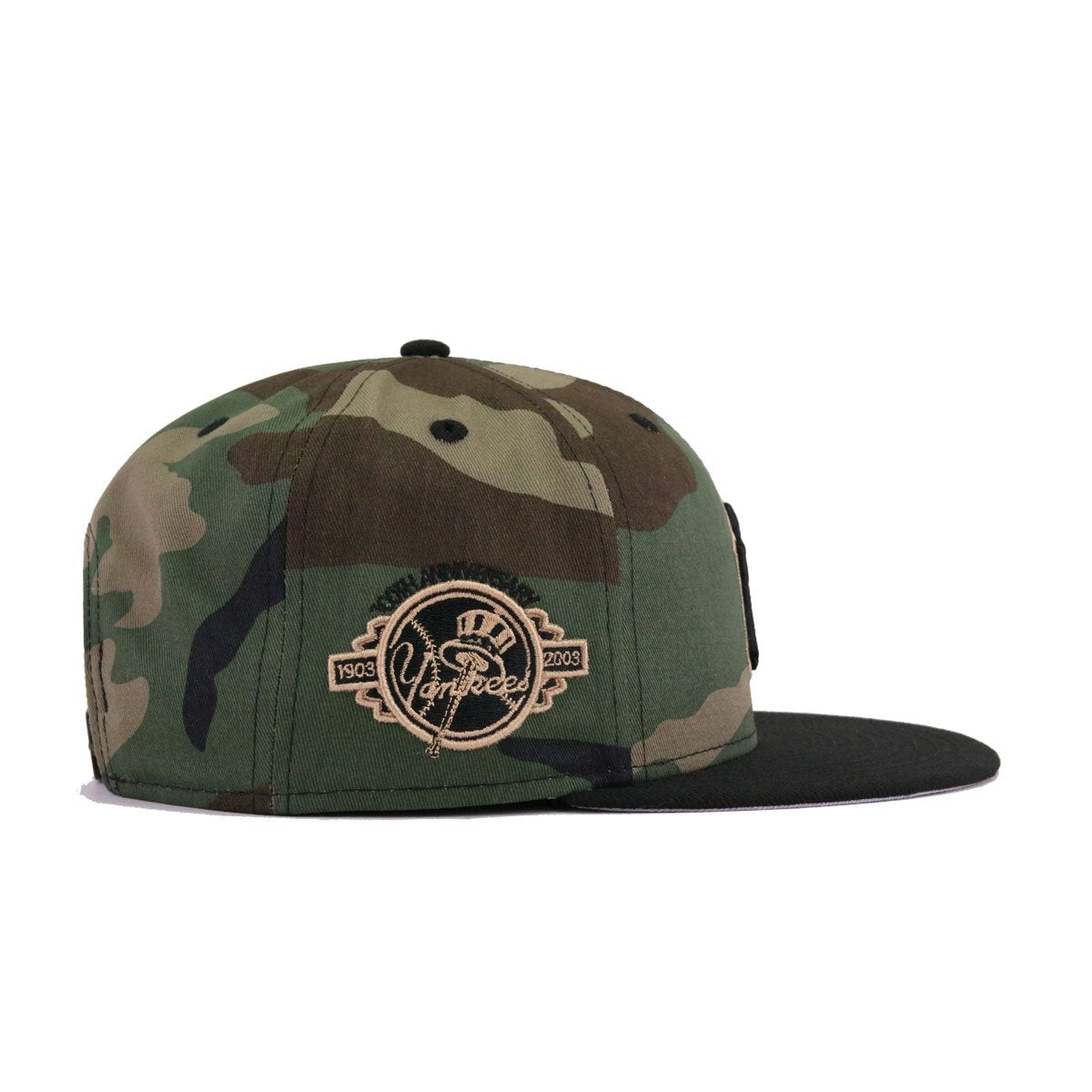check out d1705 e7dc8 New York Yankees Woodland Camouflage Black 100th Annivesary New Era 9Fifty  Snapback