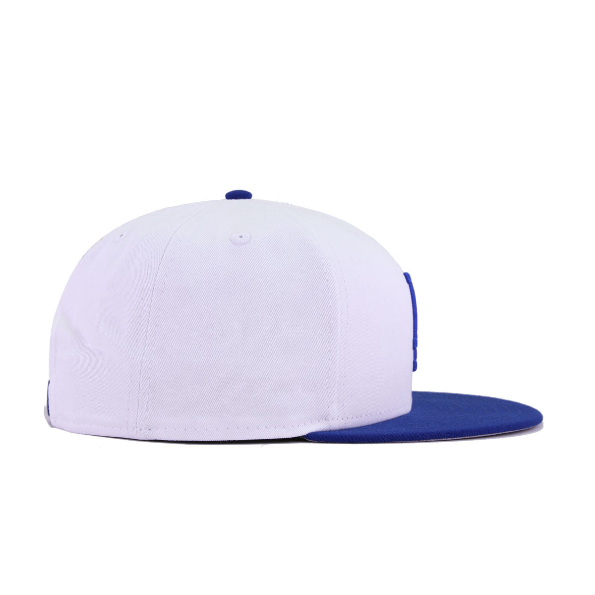 Los Angeles Dodgers White Twill Light Royal Blue New Era 9Fifty Snapback