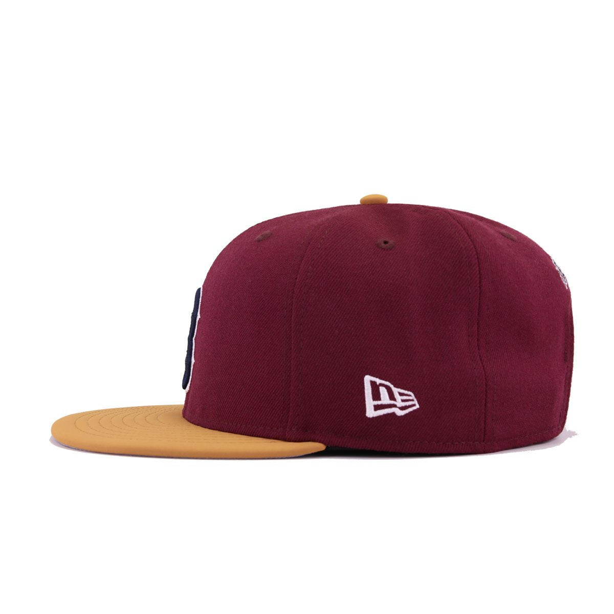 Boston Red Sox Maroon Panama Tan Nubuck New Era 9Fifty Snapback
