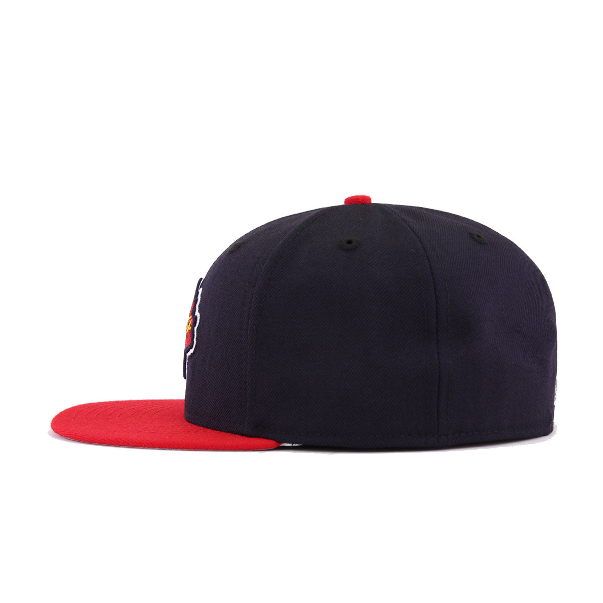 Atlanta Braves Navy Scarlet Tomahawk New Era 59Fifty Fitted