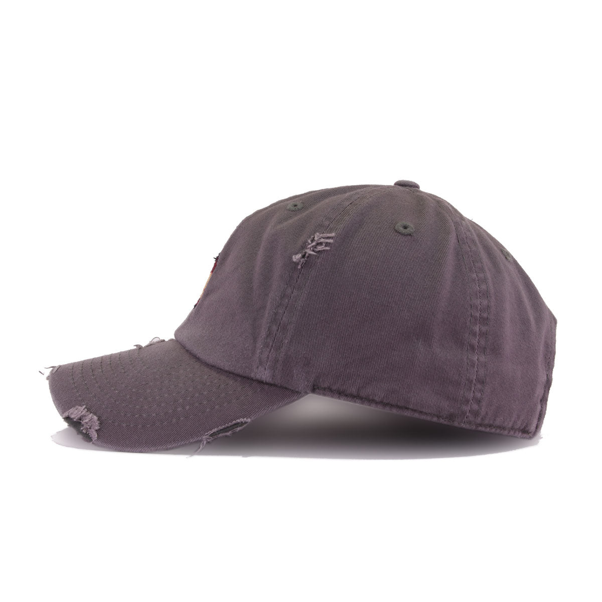 Distressed Henny Bottle Dark Grey KBEthos Vintage Dad Hat