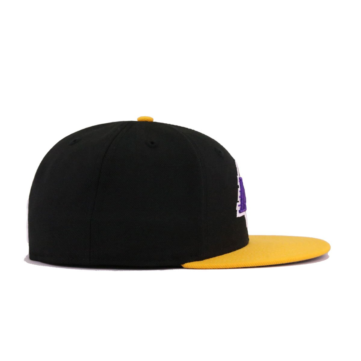 Los Angeles Lakers Black A's Gold New Era 59Fifty Fitted