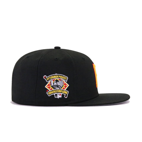 Pittsburgh Pirates Black 1994 All Star Game New Era 59Fifty Fitted