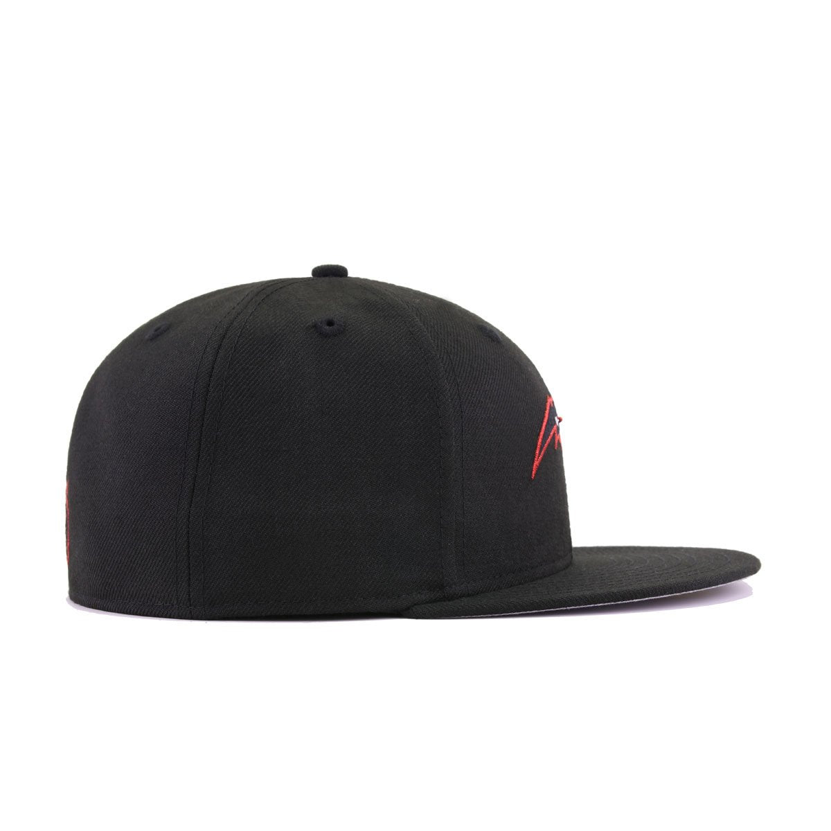 Orlando Magic Black Metallic Red New Era 59Fifty Fitted