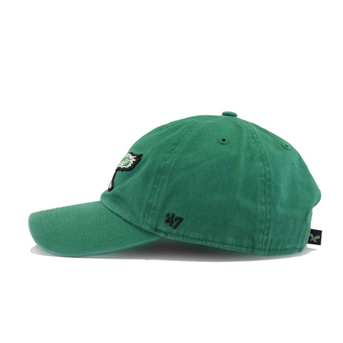 Philadelphia Eagles Legacy Vintage Kelly Green 47 Brand Clean Up Dad Hat
