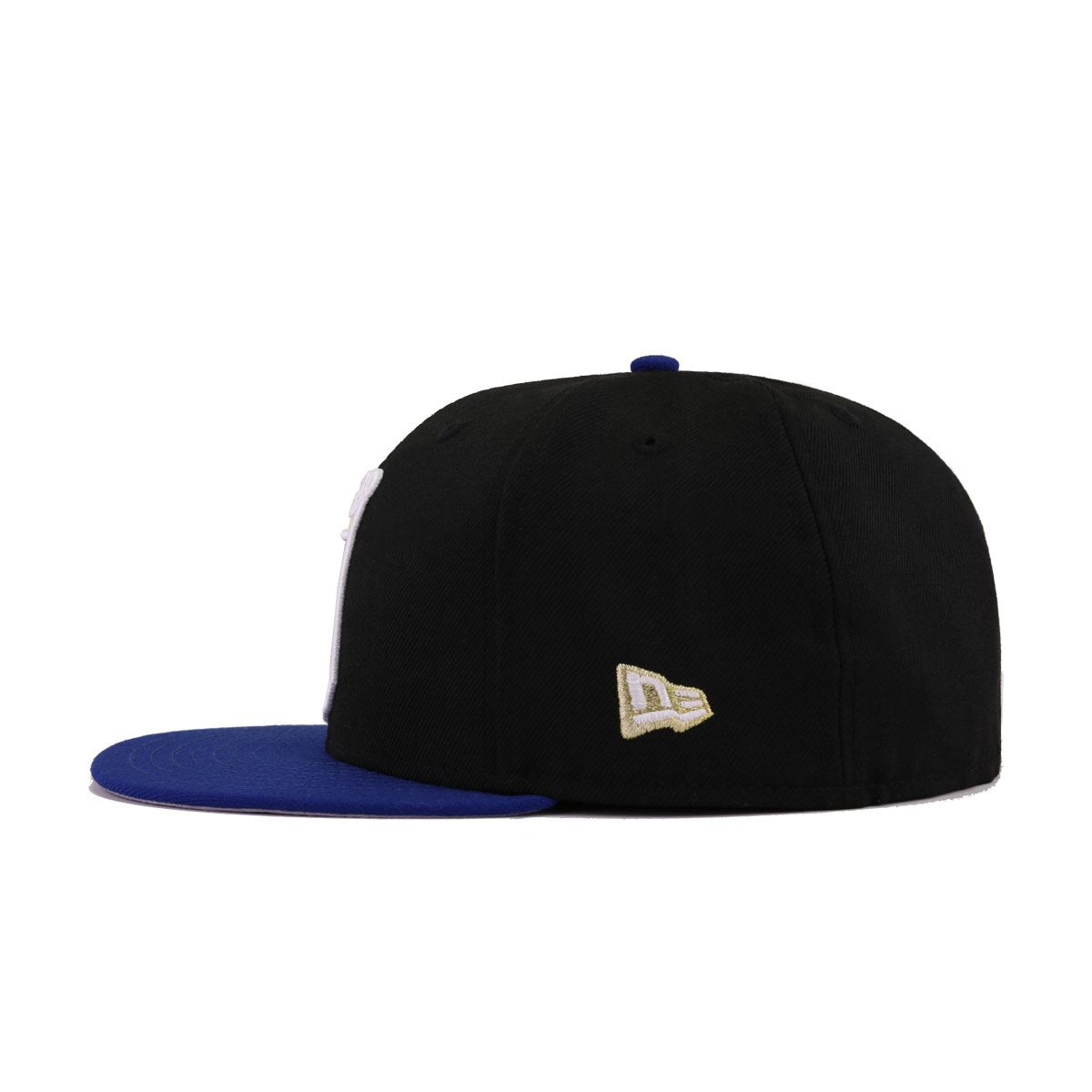 Kansas City Royals Black Light Royal Blue 40th Anniversary New Era 59Fifty Fitted