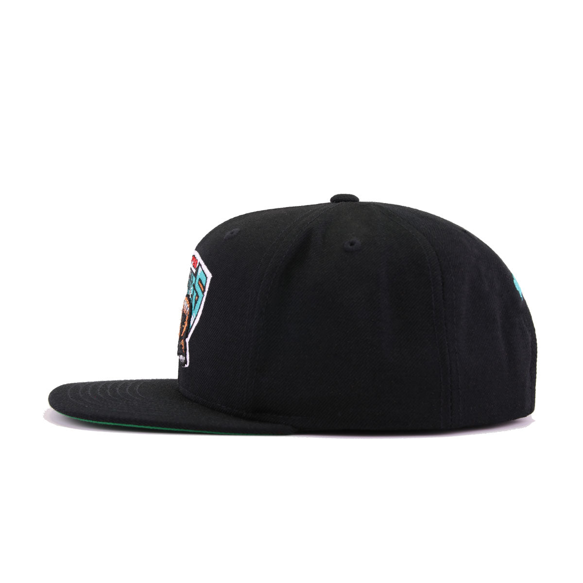 Vancouver Grizzlies Black Hardwood Classic Mitchell and Ness Snapback