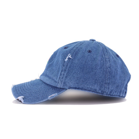 Distressed Rose Medium Denim KBEthos Vintage Dad Hat