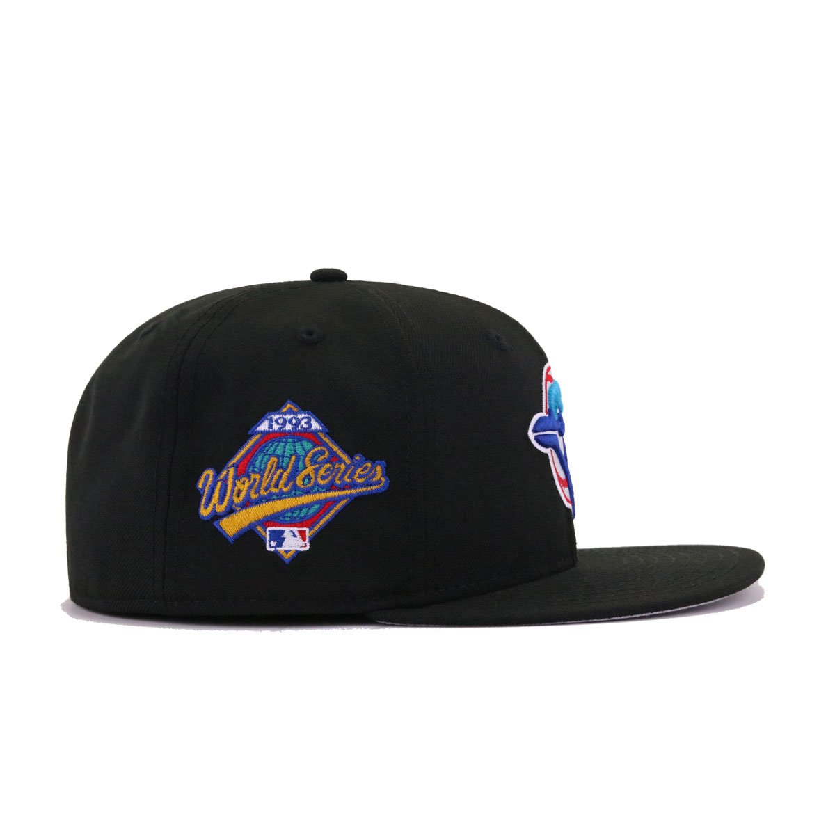 Toronto Blue Jays Black 1993 World Series New Era 59Fifty Fitted
