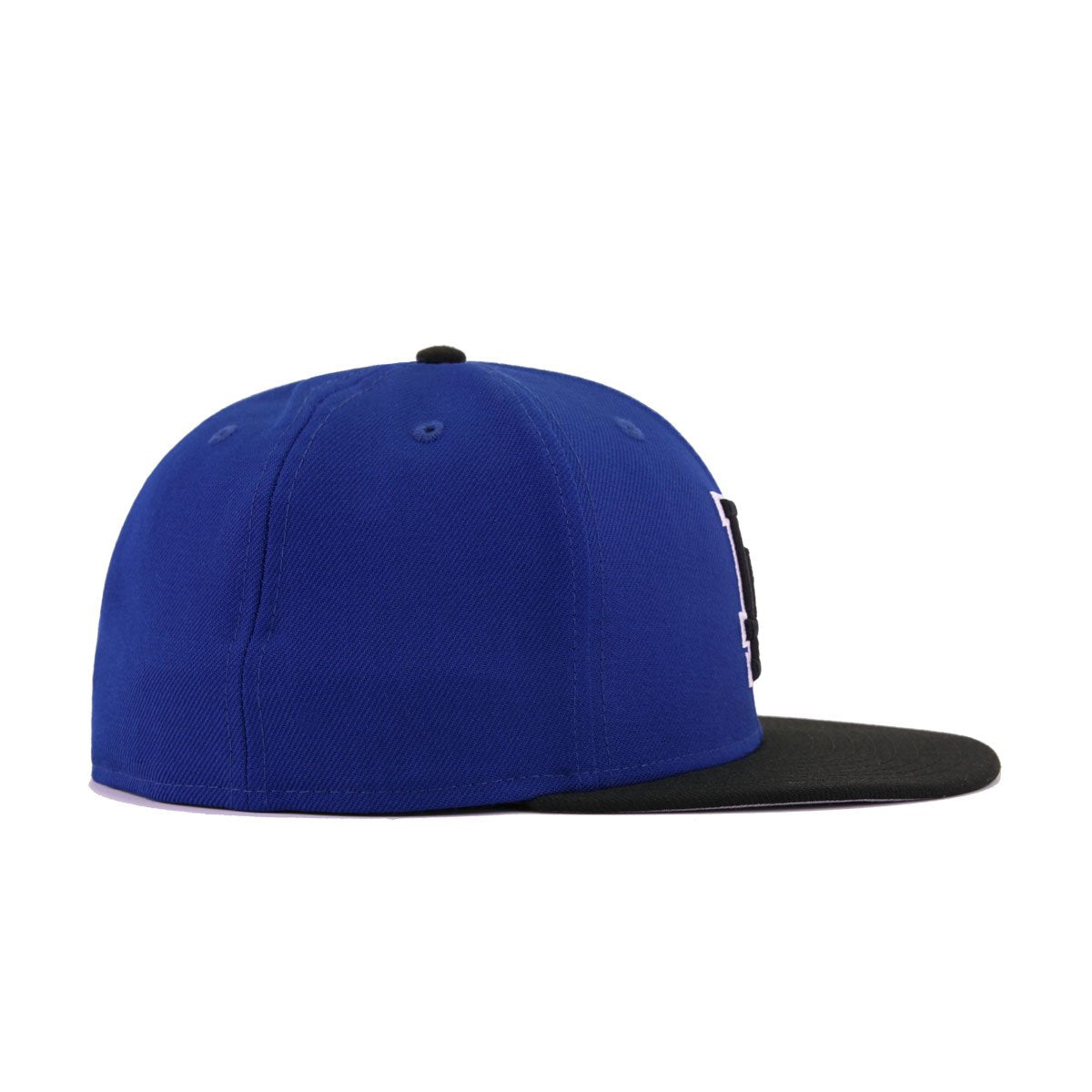 Los Angeles Dodgers Light Royal Blue Black New Era 59Fifty Fitted