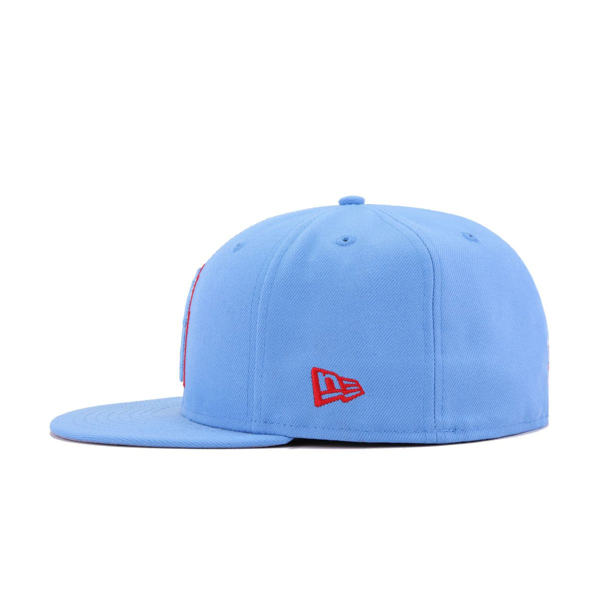 Houston Oilers Radiant Blue New Era 59Fifty Fitted