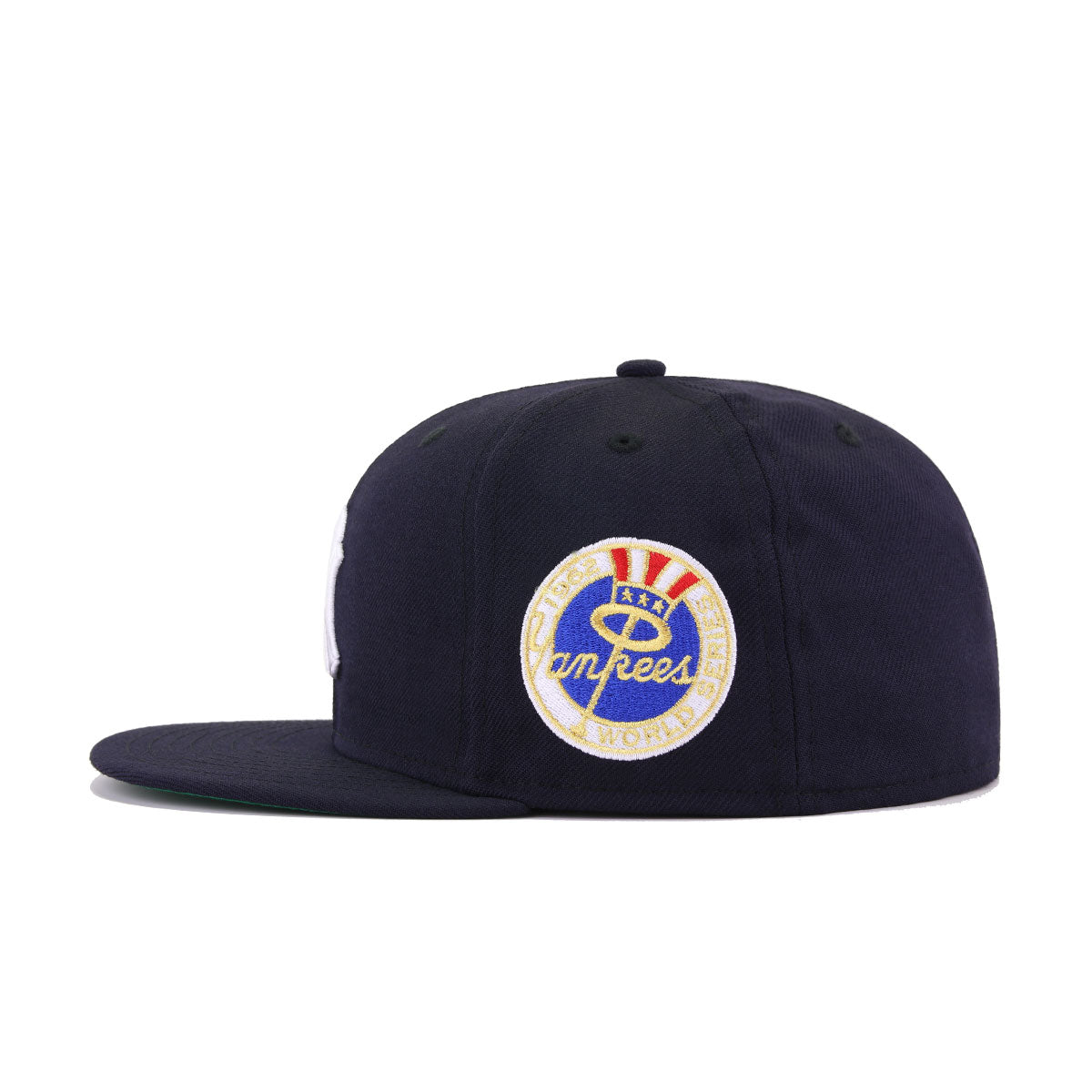 New York Yankees Navy 1962 World Series Cooperstown Green Bottom New Era 59Fifty Fitted