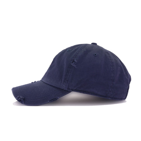 Distressed Rose Navy KBEthos Vintage Dad Hat