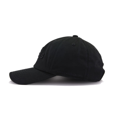 No Fcks Given Black on Black Field Grade Dad Hat