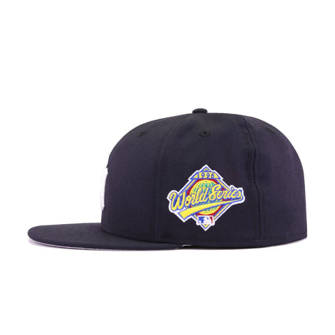 0d5f60d4cbfa99 New York Yankees Navy Cooperstown 1996 World Series New Era 59Fifty Fitted