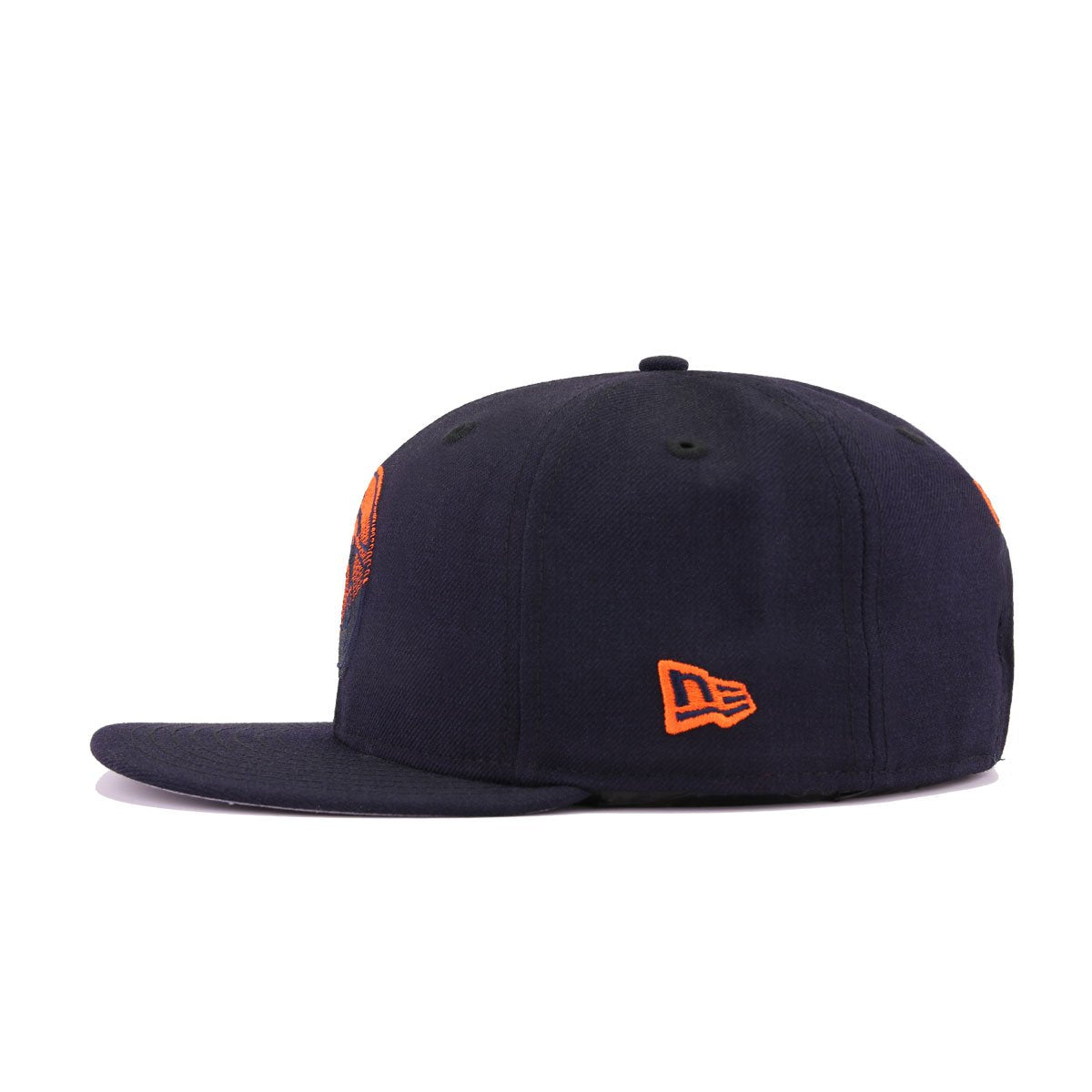 Denver Broncos Legacy Navy Orangeade New Era 9Fifty Snapback