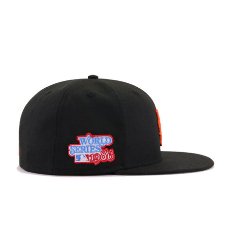 New York Mets Black 1986 World Series New Era 59Fifty Fitted