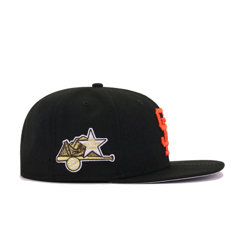 San Francisco Giants Black 1961 All Star Game New Era 59Fifty Fitted