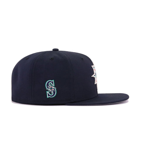 Seattle Mariners Navy Batting Practice New Era 59Fifty Fitted
