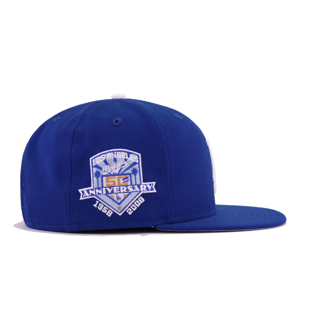 promo code 09a16 0890c ... netherlands los angeles dodgers light royal blue white 50th anniversary  new era 9fifty snapback 25202 8316d