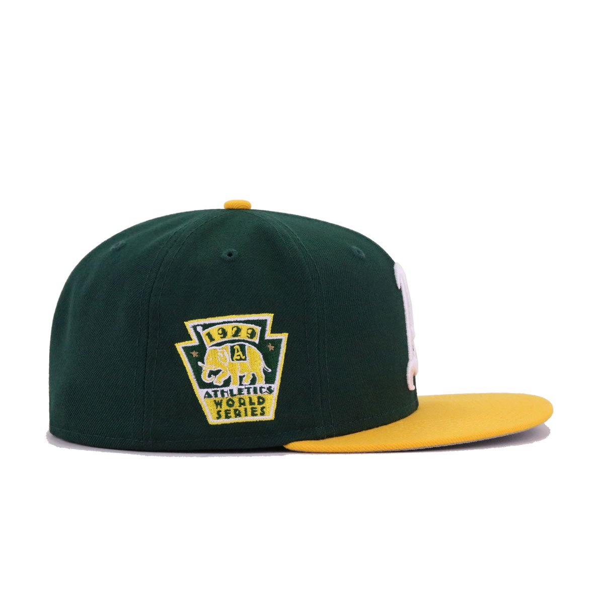 Philadelphia Athletics Dark Green A's Gold 1929 World Series New Era 59Fifty Fitted