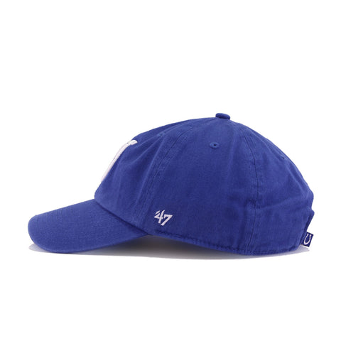 Indianapolis Colts Songbird Blue 47 Brand Clean Up Dad Hat